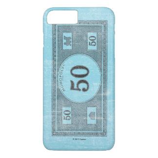 Monopoly | Vintage 50 Dollar Bill iPhone 8 Plus/7 Plus Case