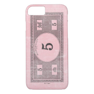 Monopoly | Vintage 5 Dollar Bill iPhone 8/7 Case