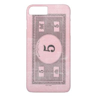 Monopoly | Vintage 5 Dollar Bill iPhone 8 Plus/7 Plus Case