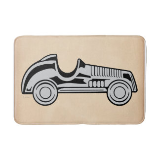 Monopoly | Vintage Car Bath Mat