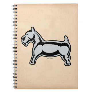 Monopoly | Vintage Dog Notebook