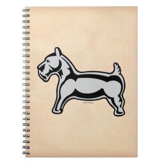 Monopoly | Vintage Dog Spiral Notebook