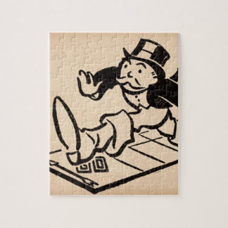 Monopoly | Vintage Rich Uncle Pennybags Jigsaw Puzzle