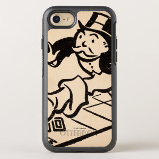 Monopoly | Vintage Rich Uncle Pennybags OtterBox Symmetry iPhone 8/7 Case