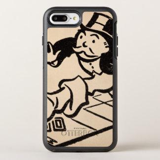 Monopoly | Vintage Rich Uncle Pennybags OtterBox Symmetry iPhone 8 Plus/7 Plus Case