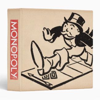 Monopoly | Vintage Rich Uncle Pennybags Vinyl Binders