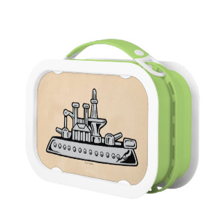 Monopoly | Vintage Ship Lunch Box