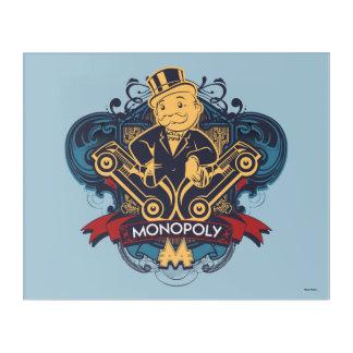Monopoly Yellow Acrylic Print