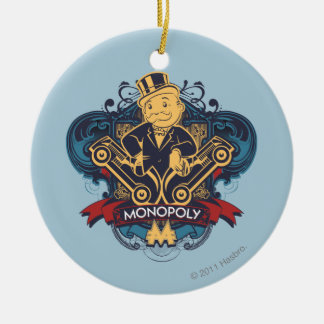 Monopoly Yellow Ceramic Ornament