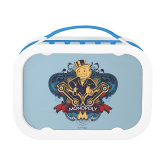 Monopoly Yellow Lunch Box