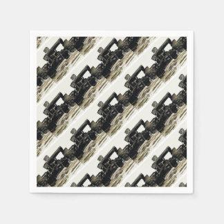 Monoposto - Artwork Jean Louis Glineur Disposable Napkins