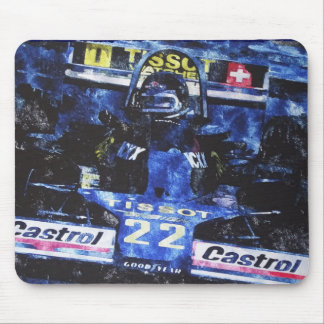 MONOPOSTO - digital kind - Jean Louis Glineur well Mouse Pad