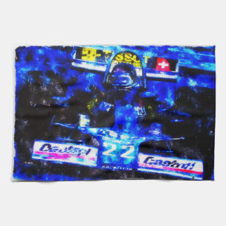 MONOPOSTO - digitally Artwork by Jean Louis Kitchen Towel
