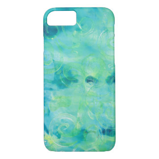 Monoprint Abstract 170267 Phone Case