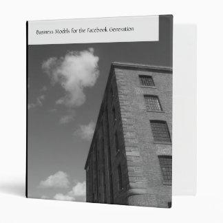 MonoTones| Cloud and Warehouse II Vinyl Binders