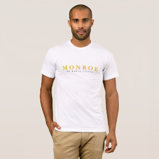 MONROE by Marco Clutch Men's White Tee