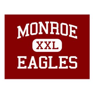 Monroe - Eagles - Middle School - Wheaton Illinois Postcard