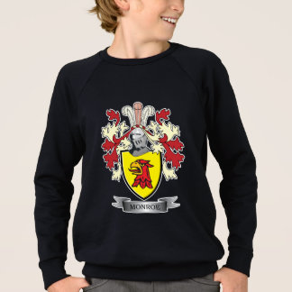 Monroe Family Crest Coat of Arms Sweatshirt