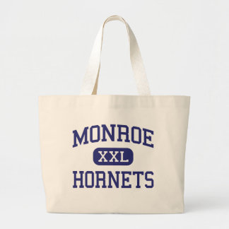 Monroe Hornets Middle Rochester New York Large Tote Bag