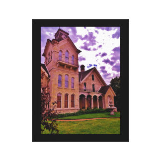 Mons Anderson Mansion Canvas Print