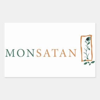 Monsanto = Monsatan Sticker