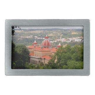 Monserrate Palace, near Sintra, Portugal Belt Buckle