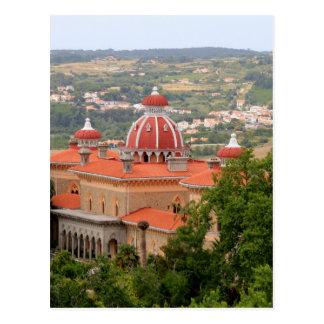 Monserrate Palace, near Sintra, Portugal Postcard