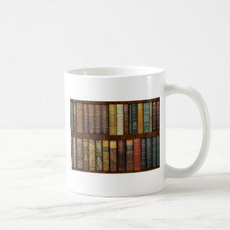 Monsieur Fancypantaloons' Instant Library Bookcase Coffee Mug