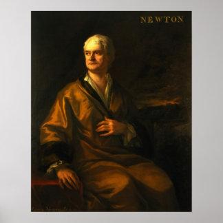 Monsieur Isaac Newton, 1710 Poster