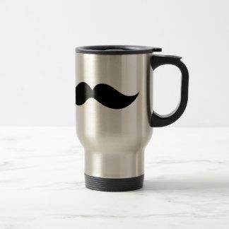 Monsieur Moustache Travel Mug
