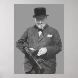 Monsieur Winston Churchill Affiches