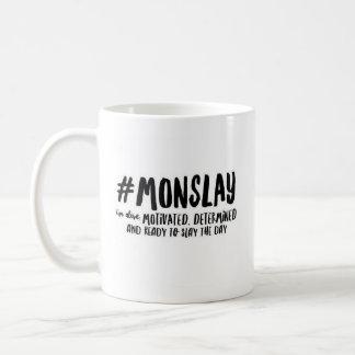 #MONSLAY - Classic White Mug