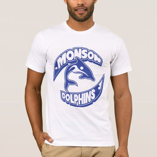 Monson Dolphins Adult Shirt
