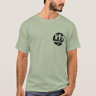 monsta bytes logo - black T-Shirt