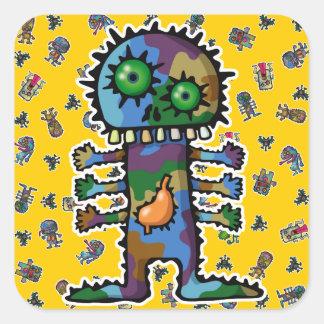 monster2 stickers carrés