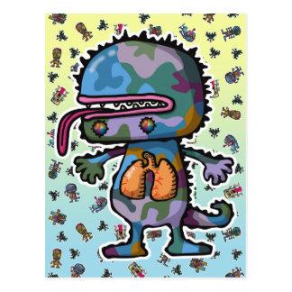monster3 postcards