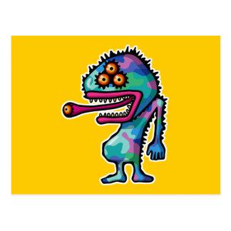 monster4 post cards