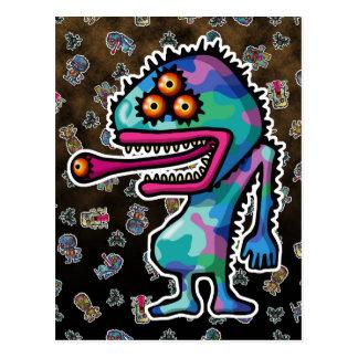 monster4 post card
