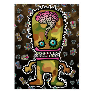 monster5 postcard
