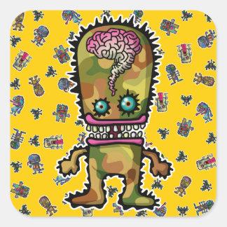 monster5 square sticker