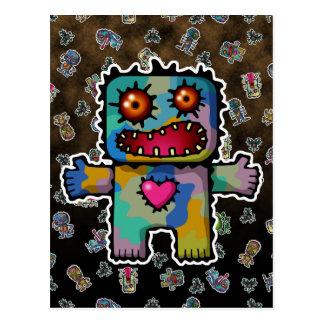 Monster 1 postcard