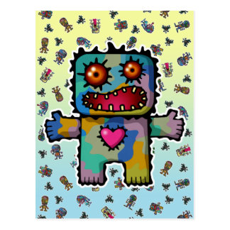 Monster 1 post cards