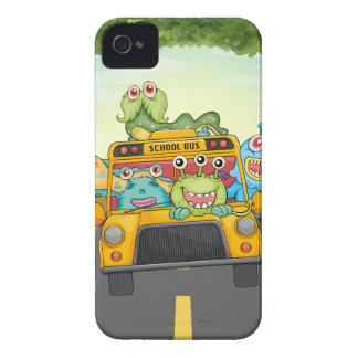 Monster and bus Case-Mate iPhone 4 cases