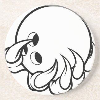 Monster animal claw holding Ten Pin Bowling Ball Coaster