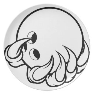 Monster animal claw holding Ten Pin Bowling Ball Plate