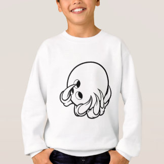 Monster animal claw holding Ten Pin Bowling Ball Sweatshirt