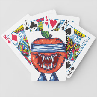 Monster Apple Bicycle Playing Cards