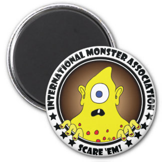 MONSTER ASSN. #3a Magnet