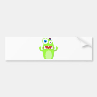 Monster Bumper Sticker