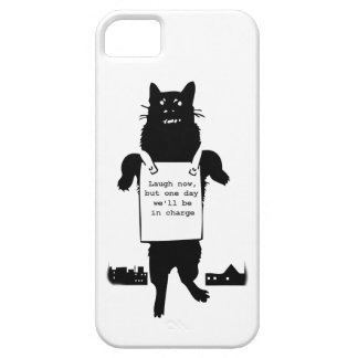 Monster Cat iPhone 5 Cases